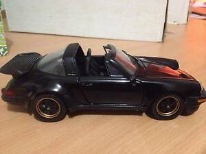 Franklin Mint 1988 Porsche Carrera 911 1:24 black Nairne Mount Barker Area Preview