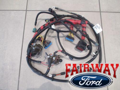 New 1999 - 2001 Super Duty F250 F350 Oem Ford Engine Wiring Harness 7.3l Diesel W/o Cali for ...