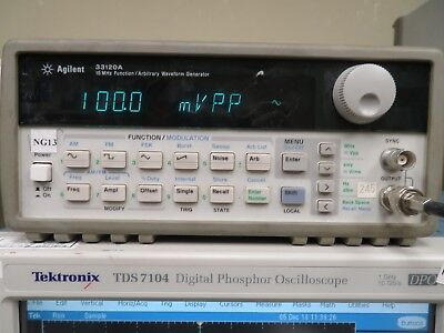 Agilent 33120a 15 Mhz Function Arbitrary Waveform Generator Ng13