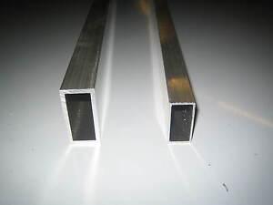 aluminium rectangle rectangular tube section ebay. Black Bedroom Furniture Sets. Home Design Ideas