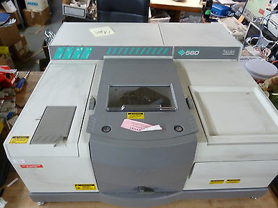 Nicolet Magna 560 Ir Spectrometer Infrared Fourier Transform Ftir Fridge