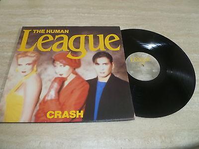 The Human League - Crash - Vinyl LP - FOC - 1986