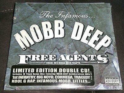 Mobb deep free agents the murda mixtape cd limited edition 2 discs gangsta rap