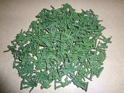 "Lot of 144 Green Plastic Mini Army Men 1"" Inch Bulk Action Figures Toy Soldiers"