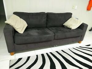 Couch and recliner, good condition.