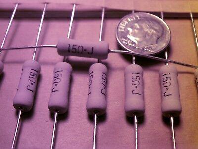 25 Pc. Resistors Metal Oxide 15 Ohm 3 Watt 5