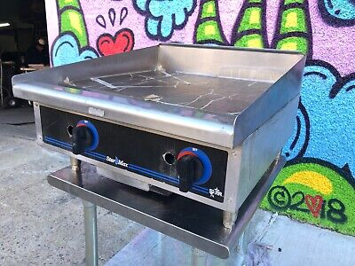 Star-max 8g-624td -24 Thermostatic Control Natural Gas Griddle Flat Top Grill