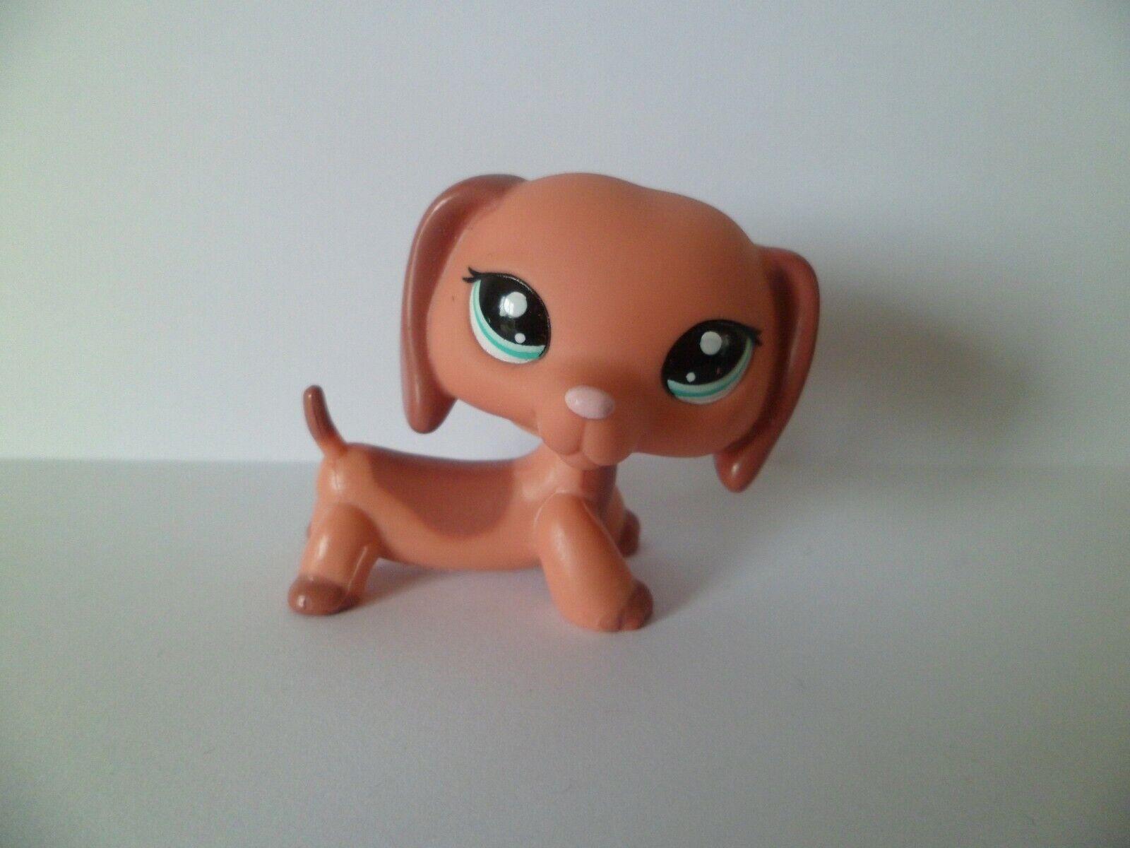 Petshop lps littlest pet shop chien teckel 2046