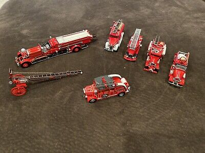 "Lot Of 6 Matchbox ""Yesteryear"" 1:43 Fire Vehicles. SK02"