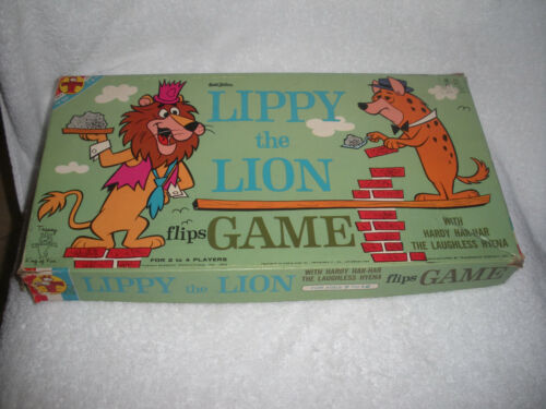 1962 LIPPY THE LION BOARDGAME