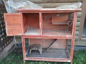 Rabbit cage and large hutch Axe Creek Bendigo Surrounds Preview