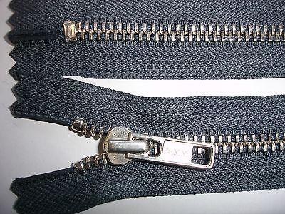 RV 310 Reißverschluß ykk grau 16cm, nicht teilbar 2 Stück