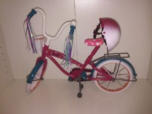 Bike to fit American girl doll / 18 inch doll