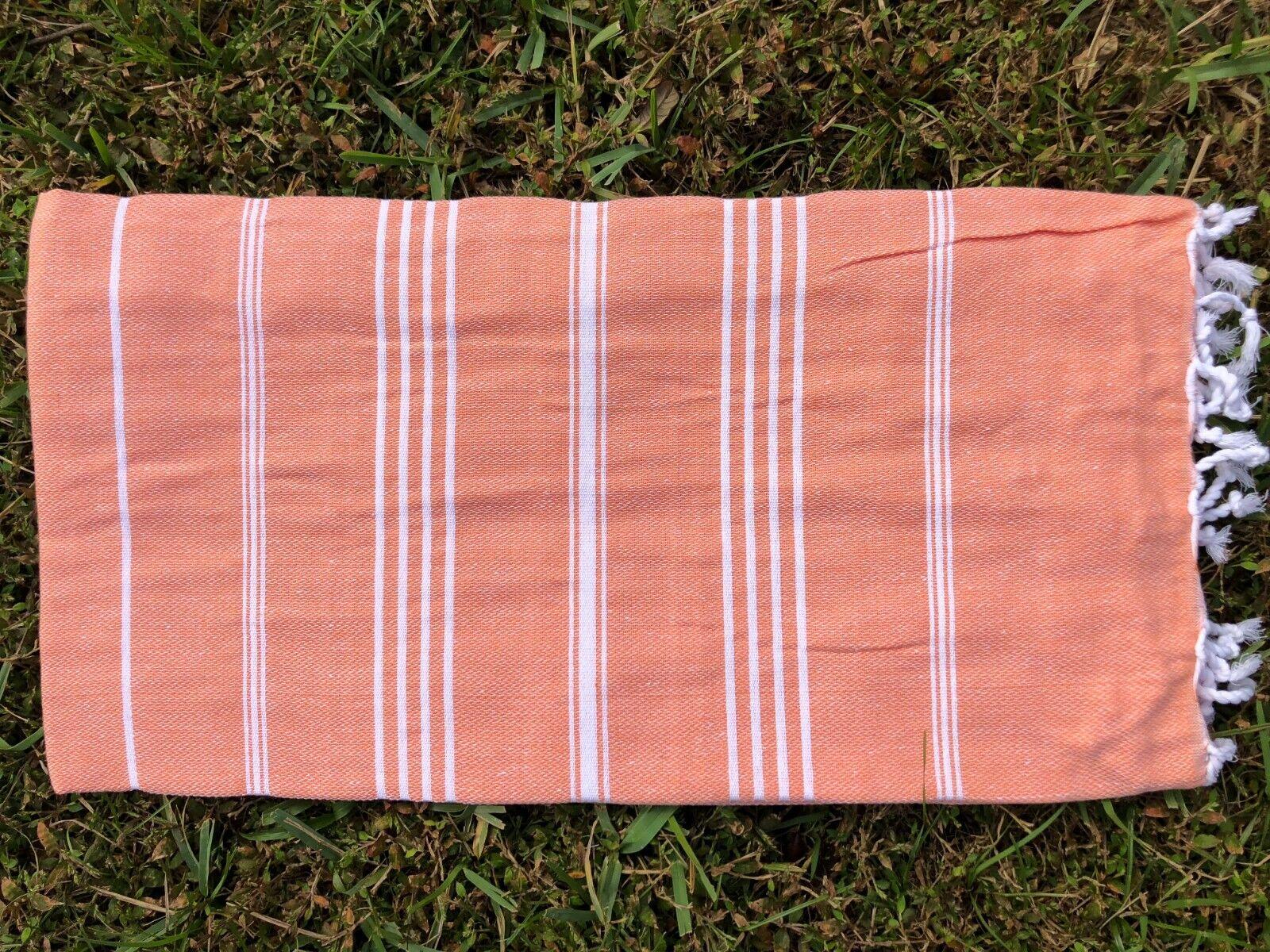 Turkish Bath Hamam Towel Beach Gym Yoga Peshtemal Cotton CRO