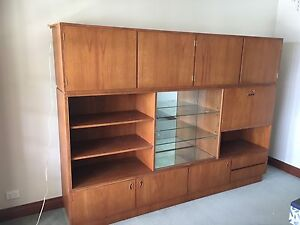 Timber Wall Unit Coal Point Lake Macquarie Area Preview