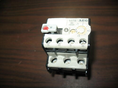 AEG B17S 929-00 Overload Relay (1.8 to 2.8A)