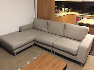 Modern 2 piece lounge ( 3 seater + 2 Seater) Ryde Ryde Area Preview