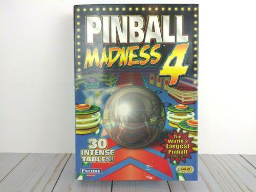 Pinball Madness 4 Top Games PC CD Full Tilt!, Loony Labyrinth, Crystal,Hyper NEW