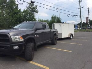 Trailer towing service