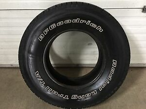 One 265/70R16 like new