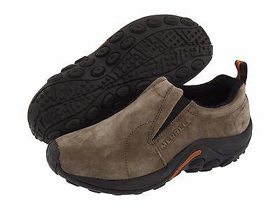 Merrell Jungle Moc Gunsmoke Slip On Casual Shoe Mens Sizes 7 15 New