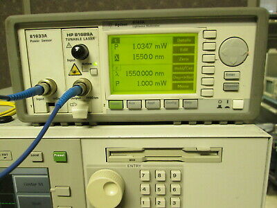 Agilent 81633a Optical Power Sensor Module Tested For 8163a 8163b 8164a Meters
