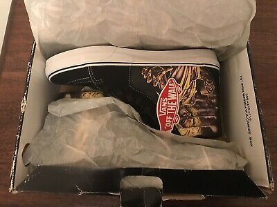 Vans Iron Maiden Killers 🔥 Complete Box, Paper, & Rare Box! Heavy Metal Rock 🔥