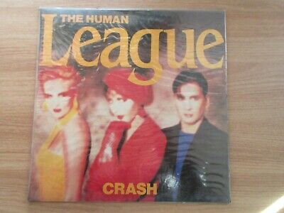 The Human League ‎– Crash Rare Korea Orig LP SEALED NEW 1986