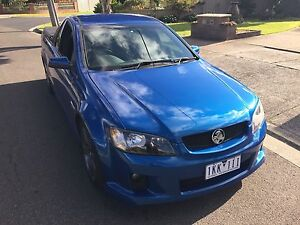 2010 Holden commodore sv6 Ute 6spd manual Lalor Whittlesea Area Preview