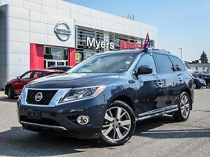 2016 Nissan Pathfinder PLATINUM, LEATHER, INTELLIGENT KEY, NAVIG