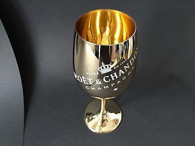 Moët Chandon Imperial Gold Glas Champagner Moet ECHTGLAS Gläser NEU OVP B-Ware