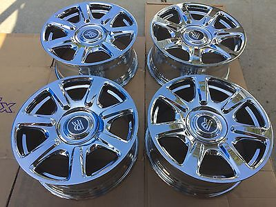 "20"" BRAND NEW 2017 ROLLS ROYCE GHOST OEM ORIGINAL FACTORY CHROME ""FORGED"" WHEELS"