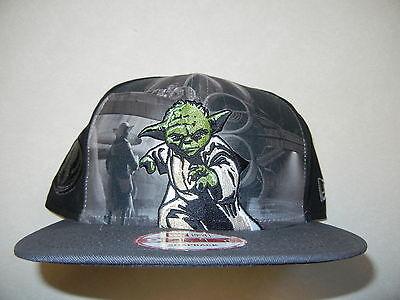 RARE STAR WARS NEW ERA 9FIFTY YODA SNAPBACK HAT CAP  - Yoda Hat