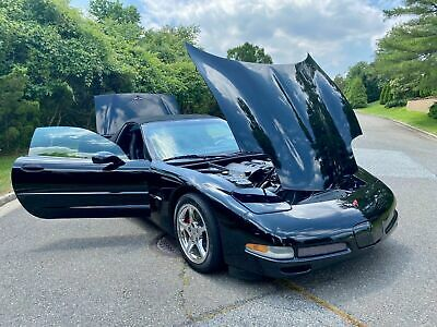 2001 Black Chevrolet Corvette     C5 Corvette Photo 1