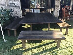 Timber Outdoor Setting North Tivoli Ipswich City Preview