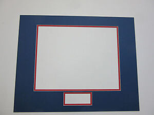 Photo Mat 16x20 Multi Opening For 8x10 Photo And Signature