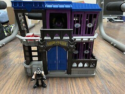 Imaginext DC Super Friend Batman Gotham City Jail w/ Bane Fisher Price
