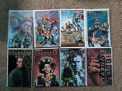 Set of 8 Stargate SG-1 Comic Books