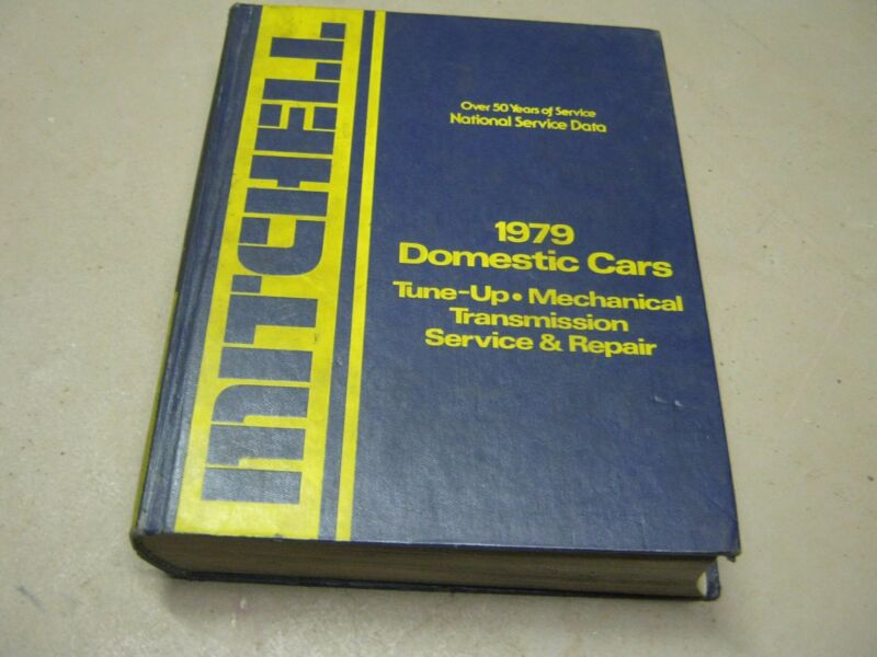 1979 Mitchell Domestic Cars Tune-up & Mechanical Transmission Service & Repair