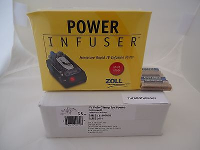 Zoll Power Infuser M100b-3a With Iv Pole Clamp 1110-0070--newsealed