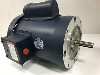Leeson 113923.00 Electric Motor 34 Hp 1425 Rpm 110220vac 50 Hz 56c Tefc