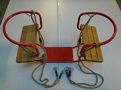 Gondelschaukel Doppelschaukel Schaukel Schiffschaukel Zweisitzerschaukel