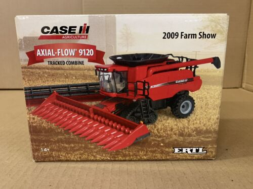 Ertl 1/64 2009 Farm Show Case IH Axial-Flow 9120 Tracked Combine #14718A