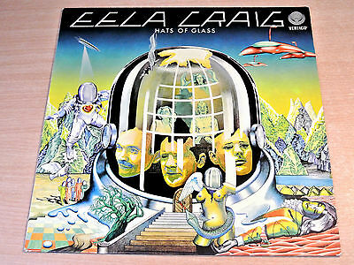 EX/EX- !! Eela Craig/Hats Of Glass/1978 Vertigo LP + Insert