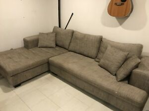 Sofa sectionel 3 places