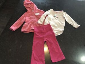 12-18 months girls' clothing lot