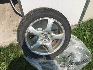 Winter Tires on Rims 195/55 R16 87T