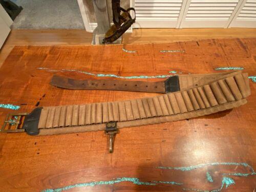 Original US M1885 Cavalry Cartridge Belt