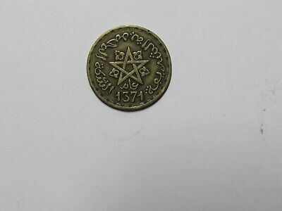 Old Morocco Coin - 1371 ( 1951 ) 10 Francs - Circulated
