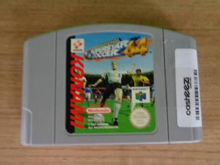 Nintendo 64 Game Cartridge - International Super Soccer 64